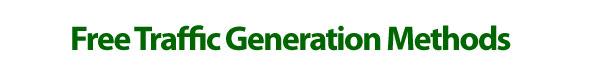 free-traffic-generation-methods