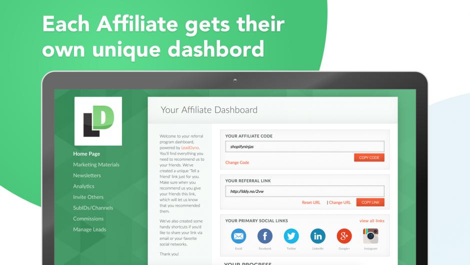 affiliate portal