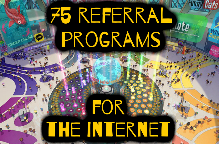 75 Referral Programs You Can Borrow In Every Niche (almost
